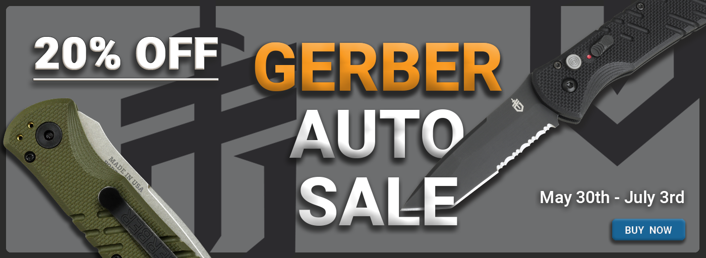 Gerber Automatic Knives On Sale