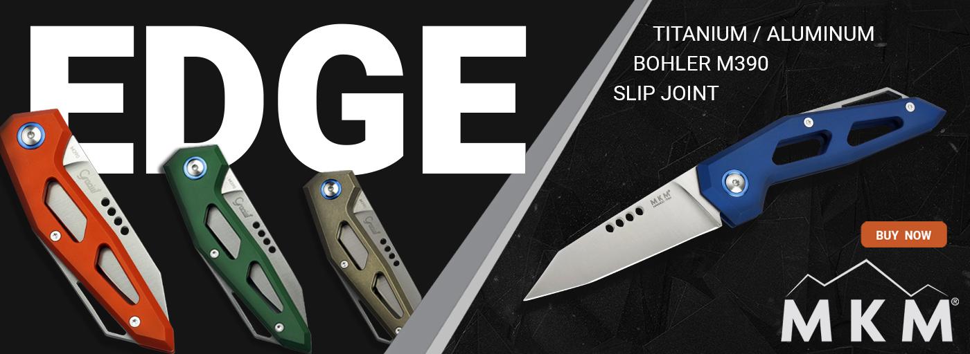 MKM Edge Reverse Tanto Modern Slipjoint