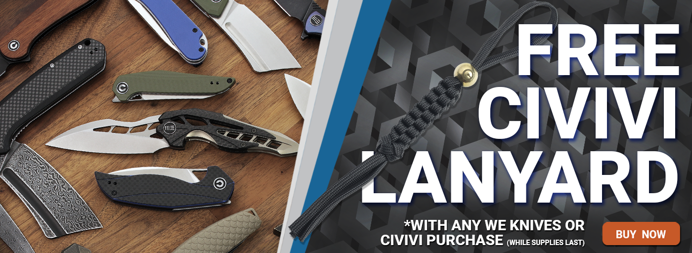 Free Lanyard with WE/Civivi Purchase