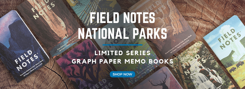 Field Notes National Parks Limited Series