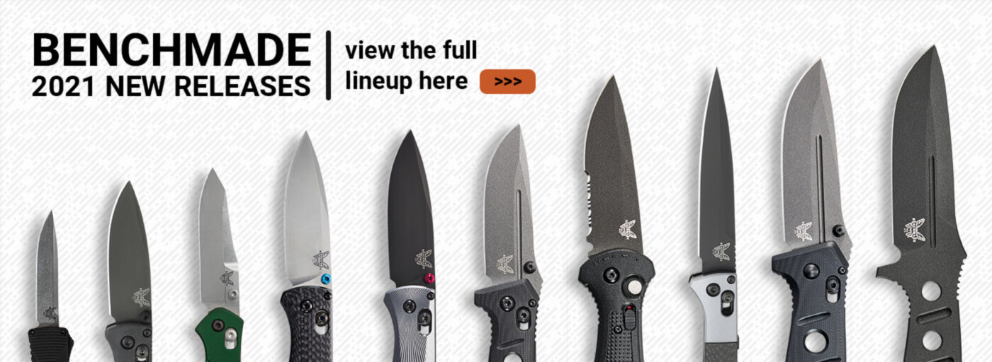 Benchmade 2021 Models Coming Soon