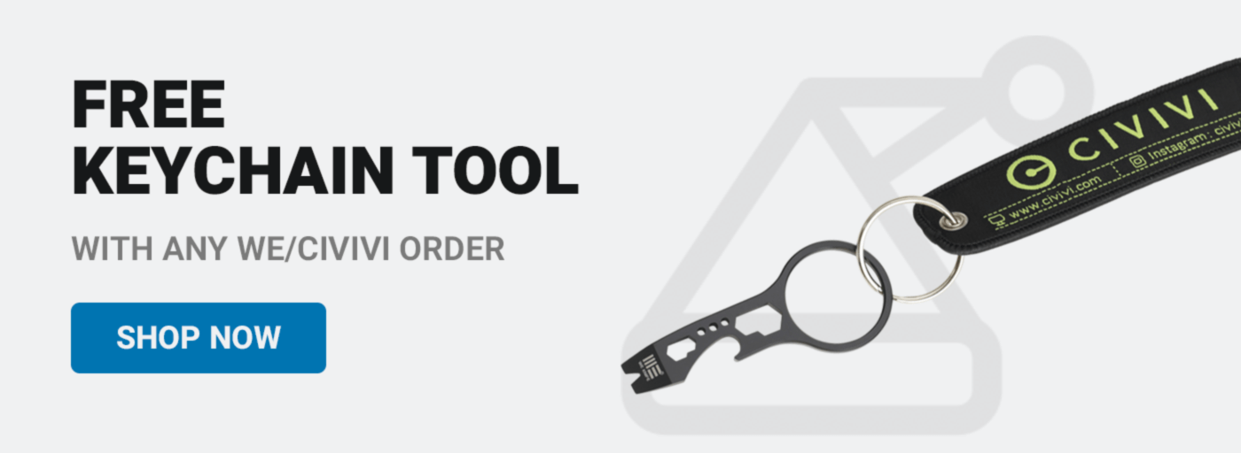 Free Keychain Tool with Civivi Order