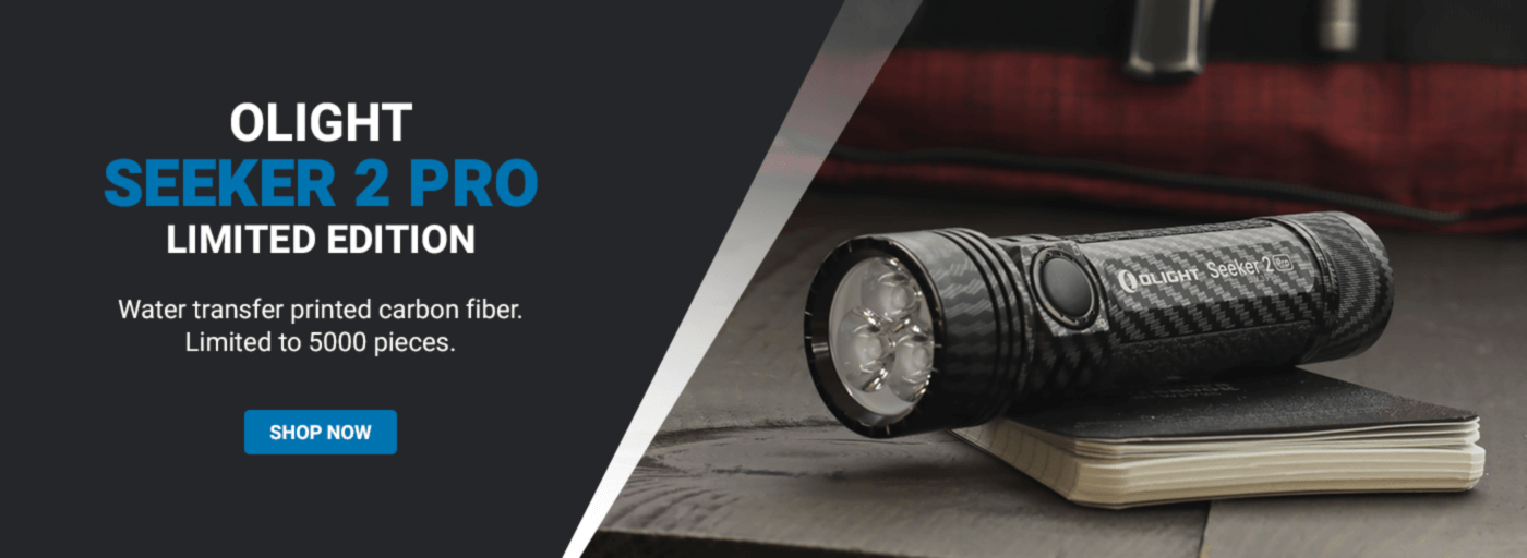 Olight Carbon Fiber Seeker Pro