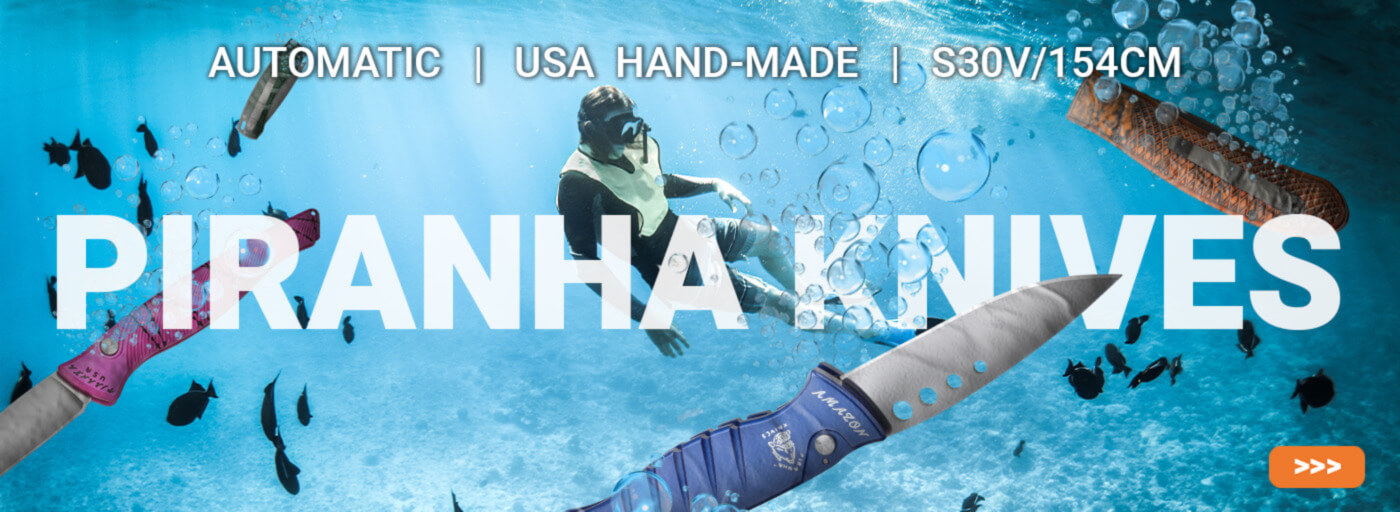 Now Stocking Piranha Automatic Knives