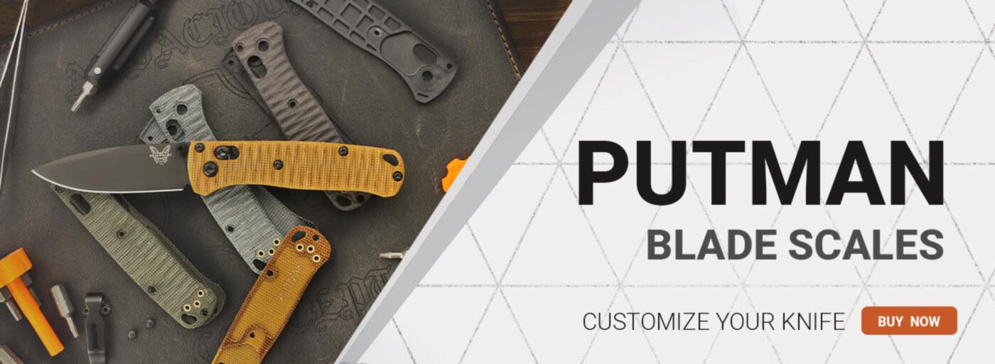 Putman Custom Blade Scales