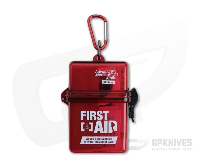 Adventure Medical Kits AMK Kit Premiers Soins résistant à l/'eau dure-Coque rigide /& clip