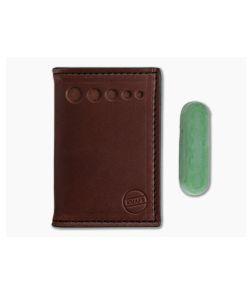 Knafs Leather Strop Wallet for Pocket Knives