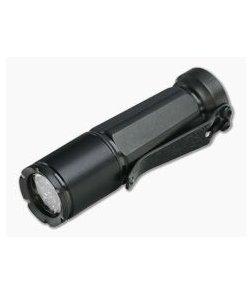 Laulima Metal Craft Todai Flashlight Titanium Black DLC Kahu Clip 4000K