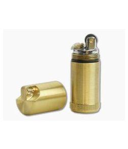 Maratac Peanut REV 2 Large Brass Lighter