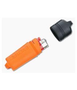 Exotac FireSleeve Orange Waterproof Lighter Case w/ Lighter 5000-ORG