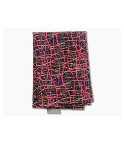SwankHanks Plasma Batik Print Cotton and Microsuede Hank