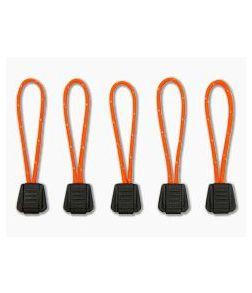Exotac TinderZip Orange Emergency Tinder Zipper Pull 5-Pack 9000-ORG