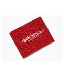 Adam Unlimited Red Stingray Bi-Fold Wallet