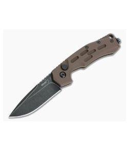 Boker Plus Thunder Storm Manasherov Coyote Aluminum Black Stonewashed AUS-8 Automatic 01BO794N