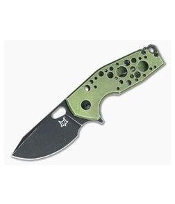 Fox Knives Vox Suru Green Aluminum Frame Lock Flipper 526ALG