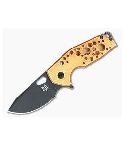 Fox Knives Vox Suru Orange Aluminum Frame Lock Flipper 526ALO