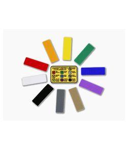 Vanquest Prepper's Color-Coding Kit 10-color AnchorWraps & Color Key Patch 020101
