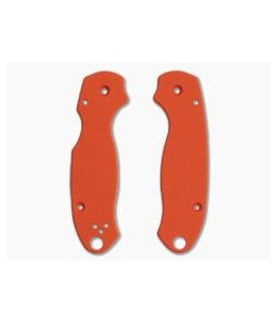Putman Blade Scales Spyderco Para 3 Smooth Orange G10 Scales