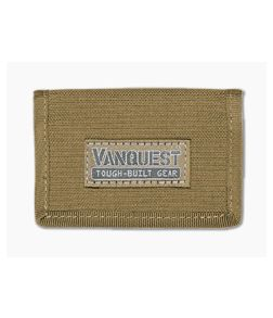 Vanquest VAULT 2.0 RFID-Blocking Wallet Coyote Tan 030205CT