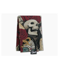 SwankHanks Day of the Dead Cotton and Microsuede Hank