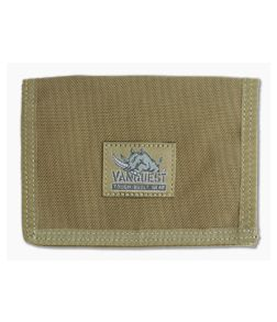 Vanquest CACHE 2.0 RFID-Blocking Security Wallet Coyote Tan 031210CT