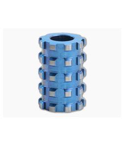 Lynch Northwest Grid Bead Lanyard Blue Titanium