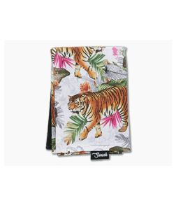 SwankHanks Tropical Tiger Cotton and Microsuede Hank