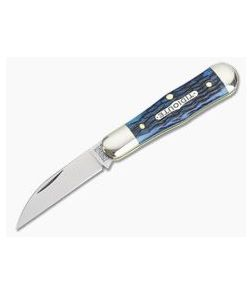 Tidioute Cutlery #06 Pemberton Wharncliffe Dark Blue Bone