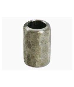Ti Survival Titanium Lanyard Bead Textured Plain