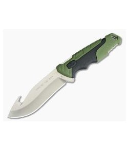 Buck Pursuit Large Guthook Fixed Hunting Knife 657GRG