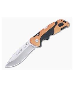 Buck Pursuit Pro Folder Large S35VN Drop Point Orange Folding Hunting Knife 0659ORS