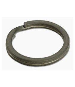 Ti Survival Titanium Split Ring 25mm Stone Washed