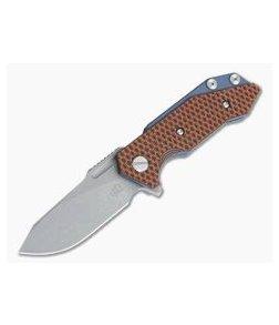 Hinderer Knives Half Track Slicer 20CV Battle Blue Orange/Black G10 Tri-Way Flipper