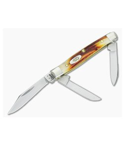 Case Small Stockman Red Stag 09449