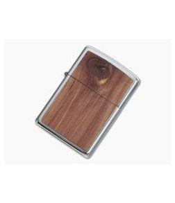 Zippo Windproof Lighter Woodchuck USA Cedar Wood 29900