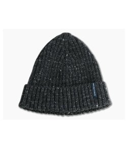 Chris Reeve Knives CRK Merino Wool Beanie Speckled Charcoal