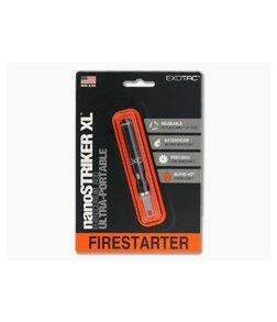 Exotac nanoSTRIKER XL Fire Starter Black 3100-BLK