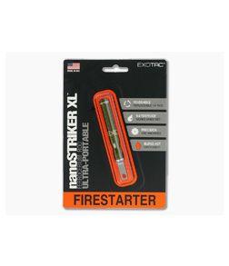Exotac nanoSTRIKER XL Fire Starter OD Green 3100-OD