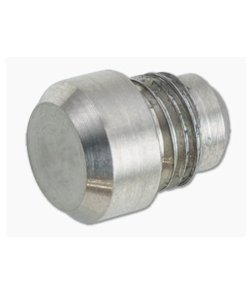 Hinderer Investigator Pen Flat End Attachment Stonewashed Titanium