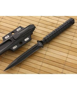 Microtech ADO Dagger Black Plain