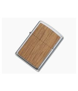 Zippo Windproof Lighter Woodchuck USA Mahogany 49038