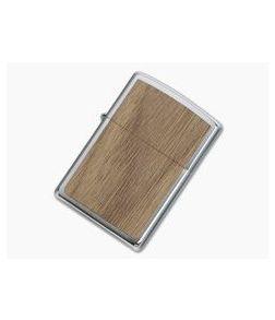 Zippo Windproof Lighter Woodchuck USA Walnut 49039
