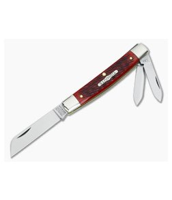 Tidioute Cutlery #13 Congress Whittler Rust Red Bone