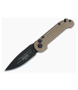 Microtech LUDT Tan Standard Automatic Knife 135-1TA-M390