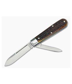 Tidioute Cutlery #14 Lick Creek Boys Knife 2-Blade Antique Yellow