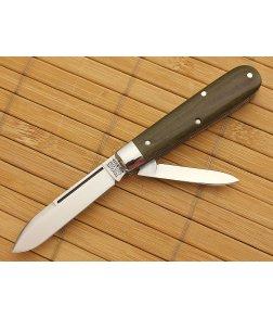 Tidioute Cutlery #14 Lick Creek Boys Knife 2-Blade Green Micarta