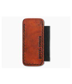 Hitch & Timber No. 15 Slip Saddle Tan Leather EDC Slip & Pen Holder