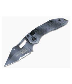Microtech Stitch Part Serrated Urban Camo M390 Automatic Knife 169-2UC
