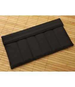Black Nylon Knife Pack 6 Compartments