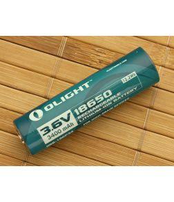 Olight 18650 Lithium Ion Battery 3400mAh ORB-186P34